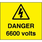 Warn104 - Danger 6600 Volts 2
